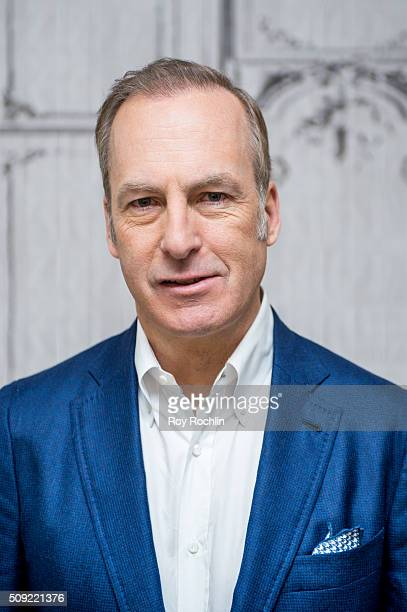 Actor Bob Odenkirk discusses 'Better Call Saul' as it goes into season 2 at AOL Studios In New York on February 9 2016 in New York City