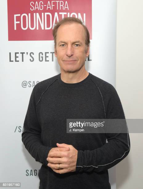 Actor Bob Odenkirk visits the SAGAFTRA Foundation Robin Williams Center on August 15 2017 in New York City