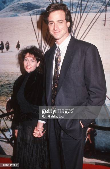 Bob Saget alongside his ex-wife Sherri