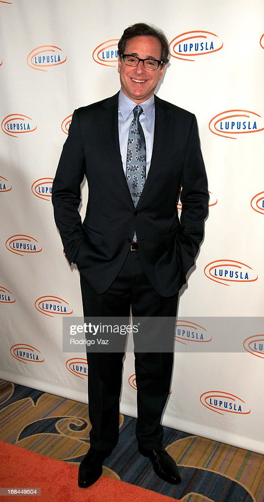 Actor <a gi-track='captionPersonalityLinkClicked' href=/galleries/search?phrase=Bob+Saget&family=editorial&specificpeople=209388 ng-click='$event.stopPropagation()'>Bob Saget</a> arrives at the 13th Annual Lupus LA Orange Ball at the Beverly Wilshire Four Seasons Hotel on May 9, 2013 in Beverly Hills, California.