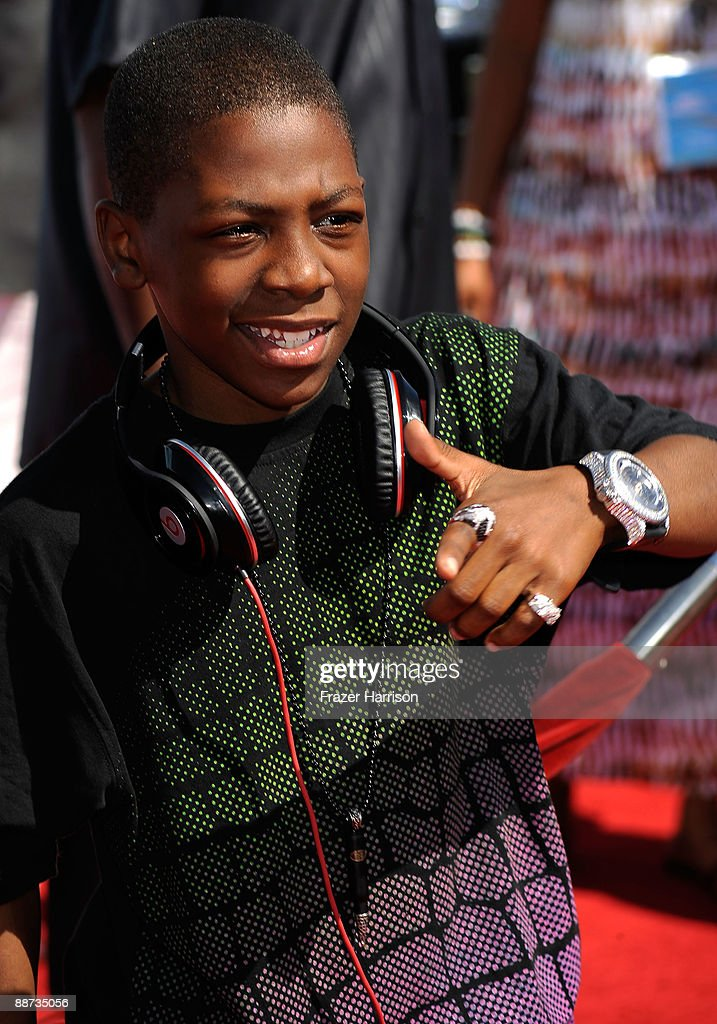 Actor Bobb'e J. Thompson arrives at the 2009 BET Awards held at the Shrine Auditorium on June 28, 2009 in Los Angeles, California.