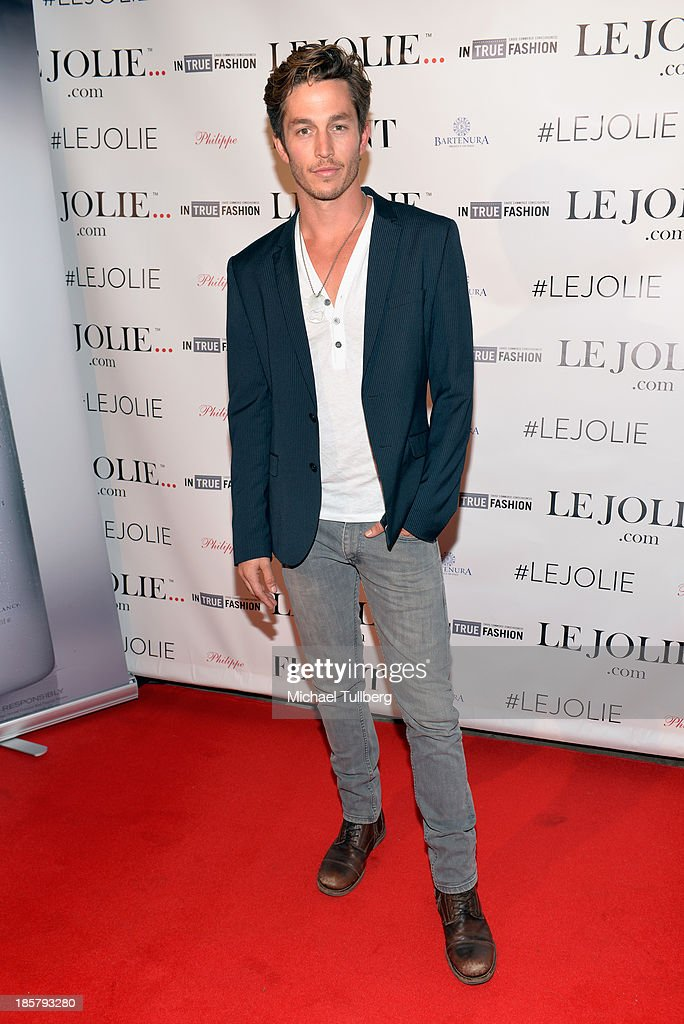 Actor Bobby Campo attends the LeJolie.com launch party at No Vacancy on October 24, 2013 in Los Angeles, California.