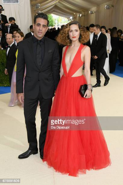 Actor Bobby Cannavale and Actress Rose Byrne attend the 'Rei Kawakubo/Comme des Garcons Art Of The InBetween' Costume Institute Gala at Metropolitan...