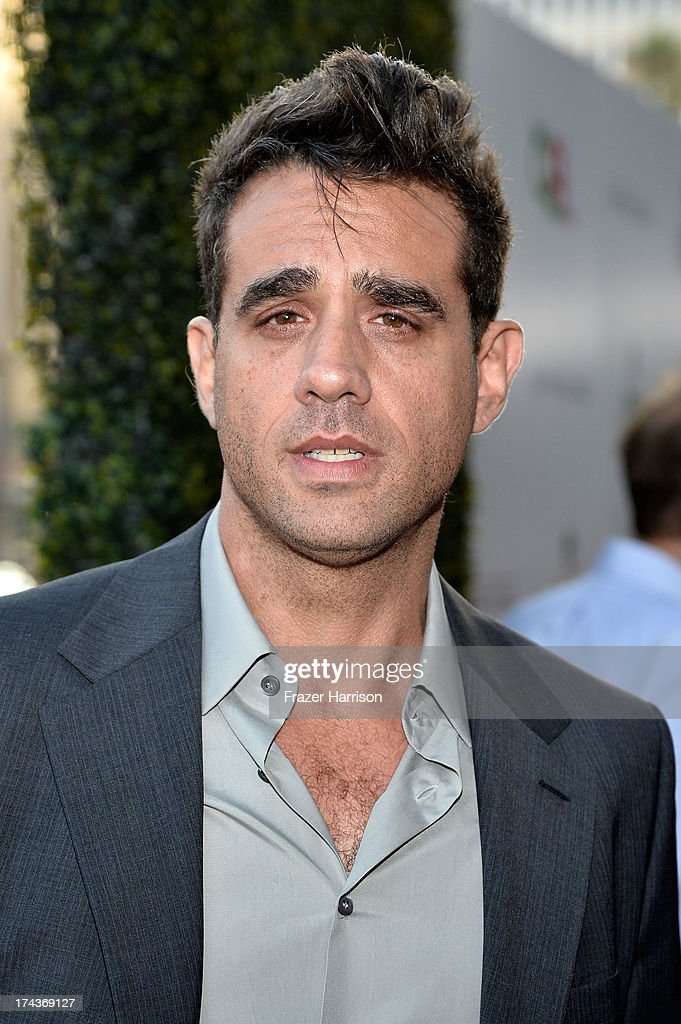 Actor <a gi-track='captionPersonalityLinkClicked' href=/galleries/search?phrase=Bobby+Cannavale&family=editorial&specificpeople=211166 ng-click='$event.stopPropagation()'>Bobby Cannavale</a> arrives at the premiere of 'Blue Jasmine' hosted by AFI & Sony Picture Classics at AMPAS Samuel Goldwyn Theater on July 24, 2013 in Beverly Hills, California.