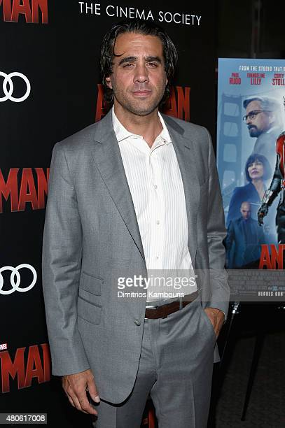 Actor Bobby Cannavale attends Marvel's screening of 'AntMan' hosted by The Cinema Society and Audi at SVA Theater on July 13 2015 in New York City