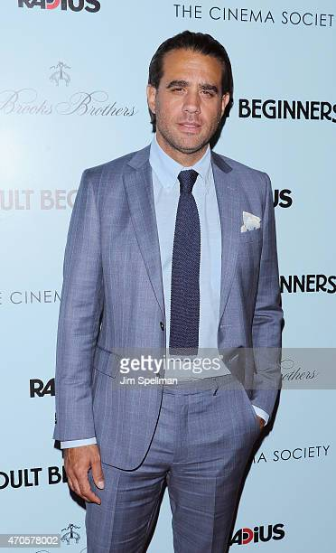 Actor Bobby Cannavale attends RADiUS with the Cinema Society Brooks Brothers host the New York premiere of 'Adult Beginners' at AMC Lincoln Square...