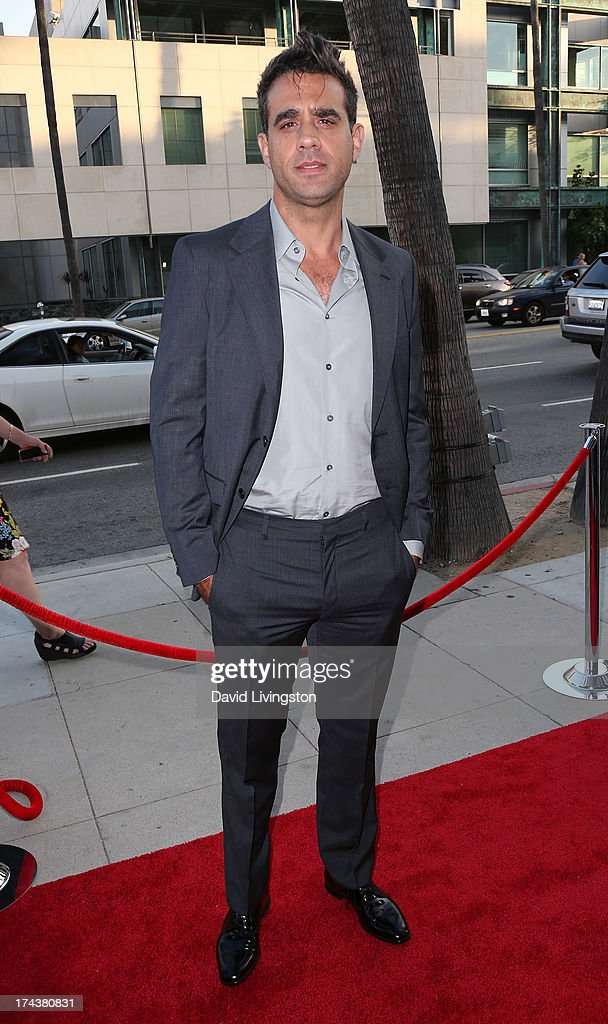 Actor Bobby Cannavale attends the premiere of 'Blue Jasmine' hosted by the AFI & Sony Picture Classics at the AMPAS Samuel Goldwyn Theater on July 24, 2013 in Beverly Hills, California.
