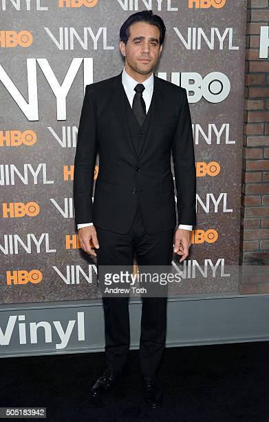 Actor Bobby Cannavale attends the 'Vinyl' New York premiere at Ziegfeld Theatre on January 15 2016 in New York City