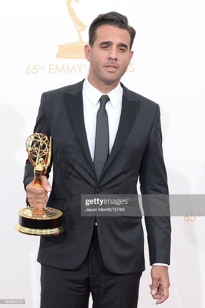 Actor Bobby Cannavale, winner of the Best Supporting Actor in a Drama Series for 'Boardwalk Empire' poses in the press room during the 65th Annual Primetime Emmy Awards held at Nokia Theatre L.A. Live on September 22, 2013 in Los Angeles, California.