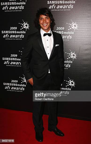 Actor Bobby Morely arrives for the 2009 Samsung Mobile AFI Awards at the Regent Theatre on December 12 2009 in Melbourne Australia