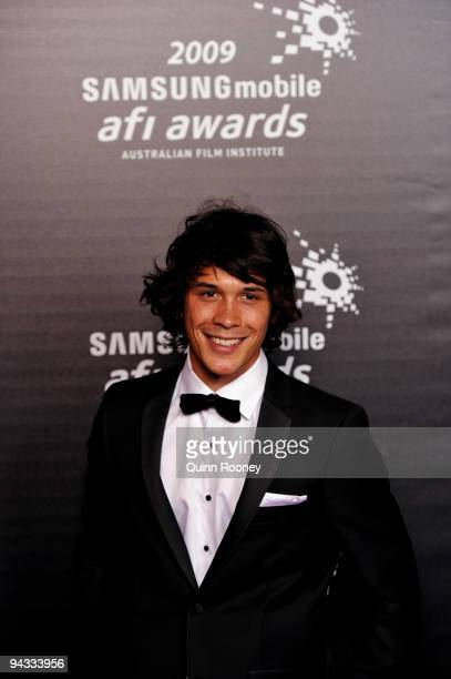 Actor Bobby Morley arrives for the 2009 Samsung Mobile AFI Awards at the Regent Theatre on December 12 2009 in Melbourne Australia