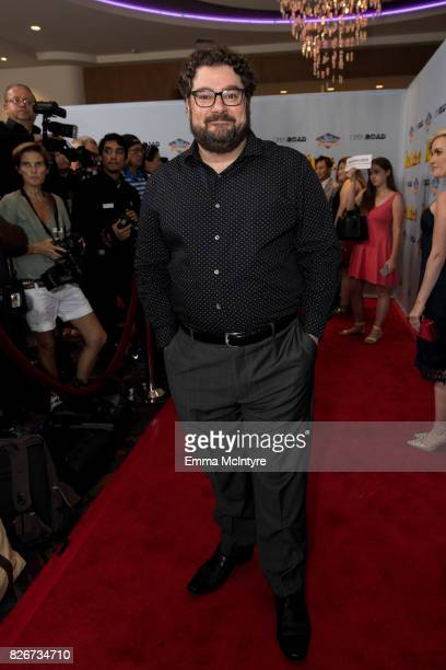 Actor Bobby Moynihan attends the premiere of Open Road Films' 'The Nut Job 2 Nutty by Nature' at Regal Cinemas LA Live on August 5 2017 in Los...