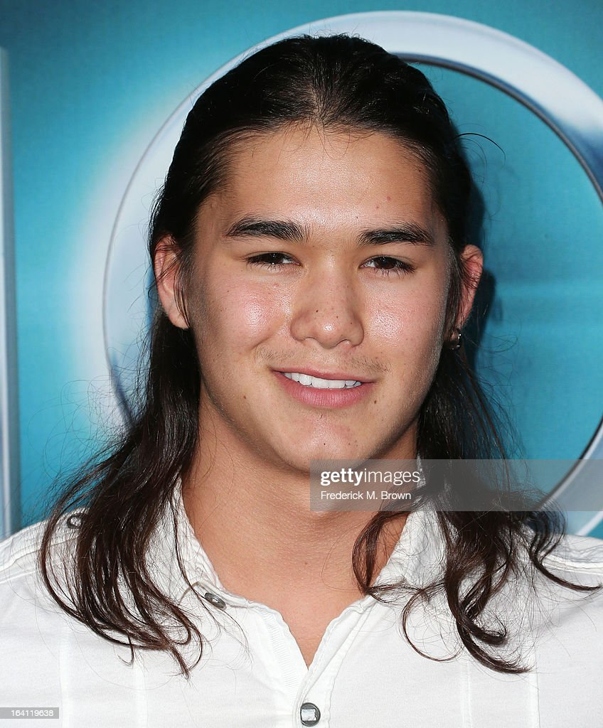Actor <a gi-track='captionPersonalityLinkClicked' href=/galleries/search?phrase=Boo+Boo+Stewart&family=editorial&specificpeople=4357776 ng-click='$event.stopPropagation()'>Boo Boo Stewart</a> attends the Premiere of Open Roads Films 'The Host' at the ArcLight Cinemas Cinerama Dome on March 19, 2013 in Hollywood, California.