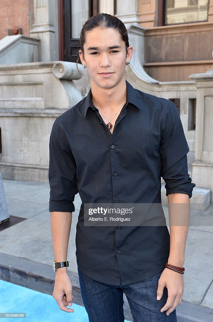 Actor Booboo Stewart arrives at Variety's Power of Youth presented by Cartoon Network held at Paramount Studios on September 15, 2012 in Hollywood, California.