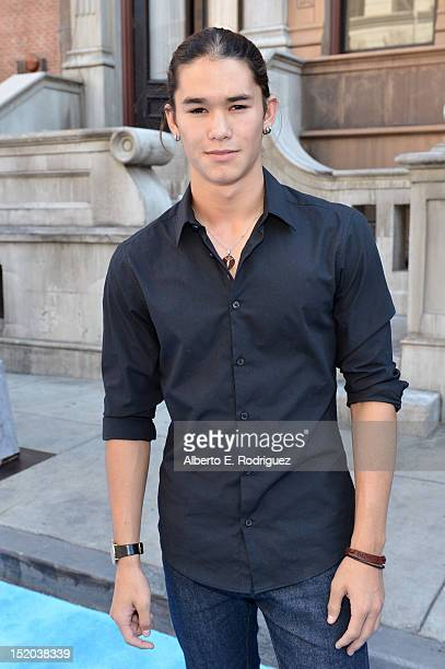 Actor Booboo Stewart arrives at Variety's Power of Youth presented by Cartoon Network held at Paramount Studios on September 15 2012 in Hollywood...