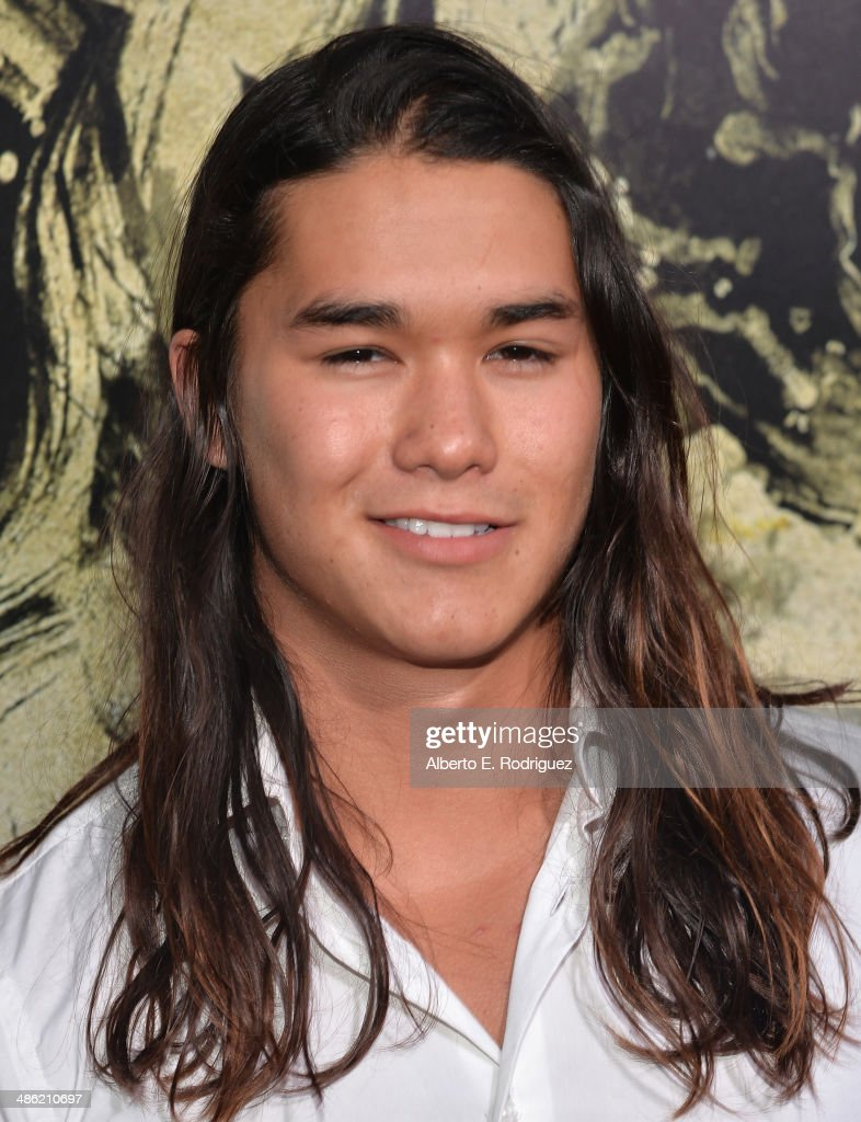 Actor Booboo Stewart arrives to the Los Angeles Premiere of Lionsgate Films' 'The Quiet Ones' at The Theatre At Ace Hotel on April 22, 2014 in Los Angeles, California.