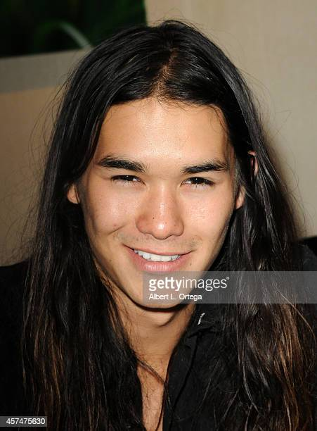 Actor BooBoo Stewart at The Hollywood Show held at Westin LAX Hotel on October 18 2014 in Los Angeles California