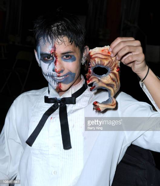Actor BooBoo Stewart attends Knott's Scary Farm Halloween Haunt at Knott's Berry Farm on October 13 2010 in Buena Park California