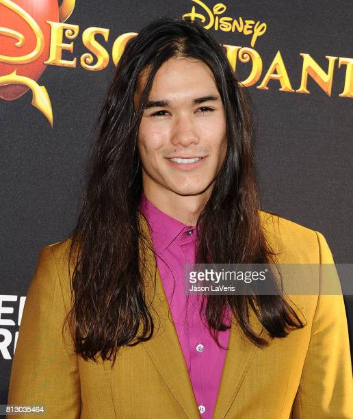 Actor Booboo Stewart attends the premiere of 'Descendants 2' at The Cinerama Dome on July 11 2017 in Los Angeles California