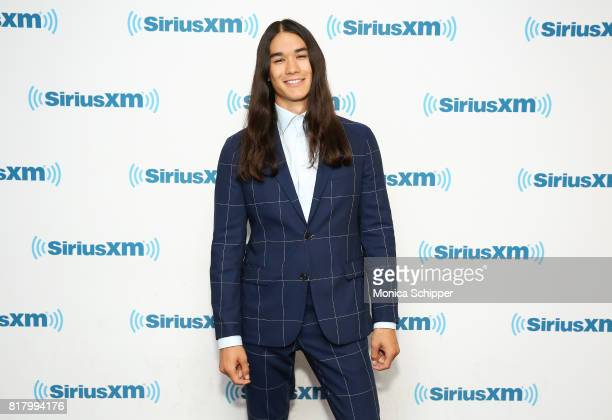 Actor Booboo Stewart visits SiriusXM Studios on July 18 2017 in New York City