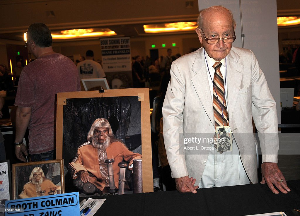 Actor Booth Coleman participates in The Hollywood Show held at Westin LAX Hotel on July 13, 2013 in Los Angeles, California.