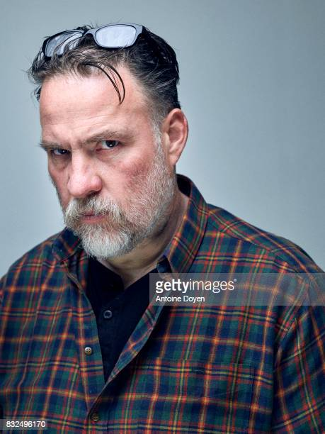 Actor Bouli Lanners is photographed for Self Assignment on June 14 2016 in Paris France