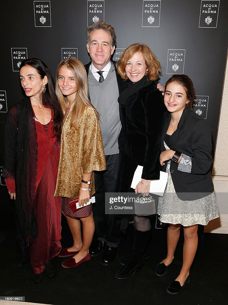 Actor <a gi-track='captionPersonalityLinkClicked' href=/galleries/search?phrase=Boyd+Gaines&family=editorial&specificpeople=705809 ng-click='$event.stopPropagation()'>Boyd Gaines</a> (C) and family attend An Evening Of Dance Featuring Roberto Bolle And Friends at Manhattan Theatre Club at New York City Center on September 17, 2013 in New York City.