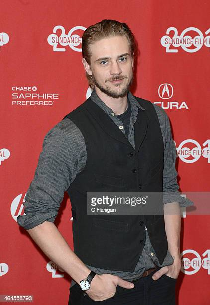 Actor Boyd Holbrook attends the premiere of 'Little Accidents' at the Eccles Center Theatre during the 2014 Sundance Film Festival on January 22 2014...