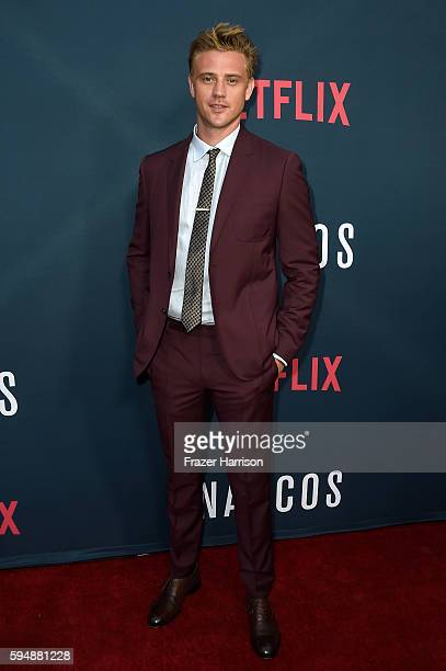 Actor Boyd Holbrook attends the Season 2 premiere of Netflix's 'Narcos' at ArcLight Cinemas on August 24 2016 in Hollywood California