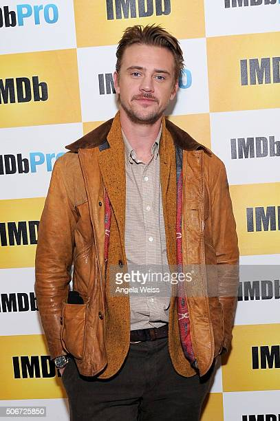 Actor Boyd Holbrook in The IMDb Studio In Park City Utah Day Four on January 25 2016 in Park City Utah