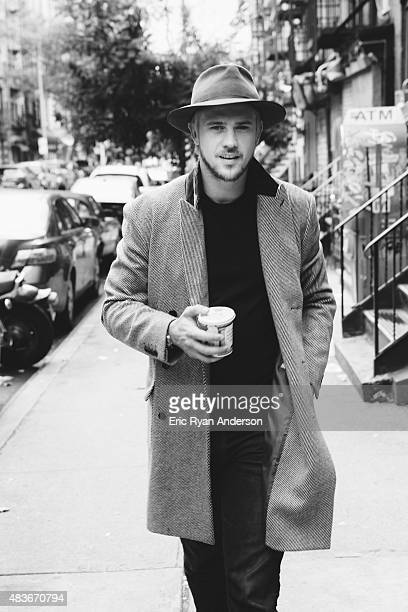 Actor Boyd Holbrook is photographed for Gotham Magazine on September 1 2014 in New York City PUBLISHED IMAGE