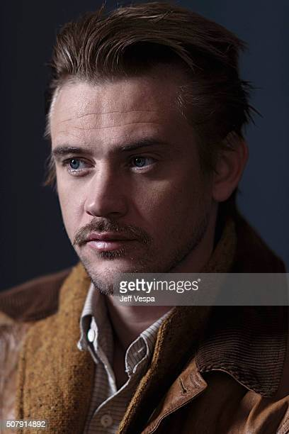Actor Boyd Holbrook of 'The Free World' poses for a portrait at the 2016 Sundance Film Festival on January 25 2016 in Park City Utah