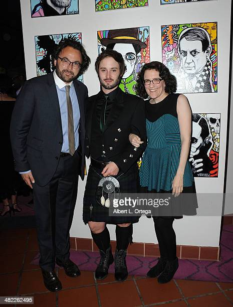 Actor Brad Bell and writer Jane Espenson attends 5th Annual Indie Series Awards held at El Portal Theatre on April 2 2014 in North Hollywood...