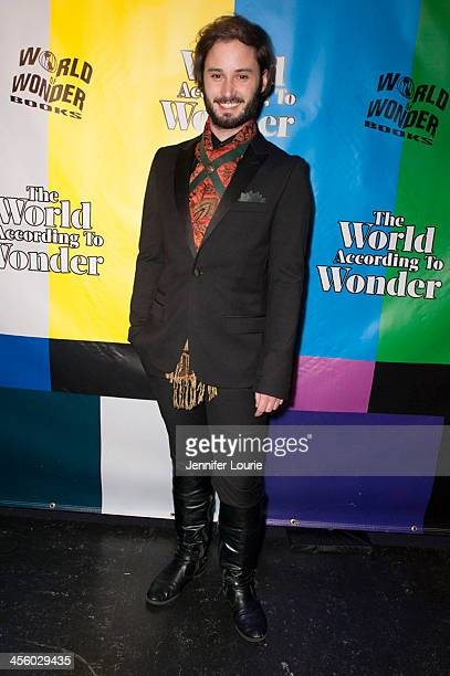 Actor Brad Bell attends the 2013 World of Wonder Holiday Party and 1st Annyal WOWie Awards at The Globe Theatre on December 12 2013 in Universal City...