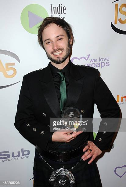 Actor Brad Bell Best Lead Actor in a Comedy for 'Husbands' attends 5th Annual Indie Series Awards held at El Portal Theatre on April 2 2014 in North...