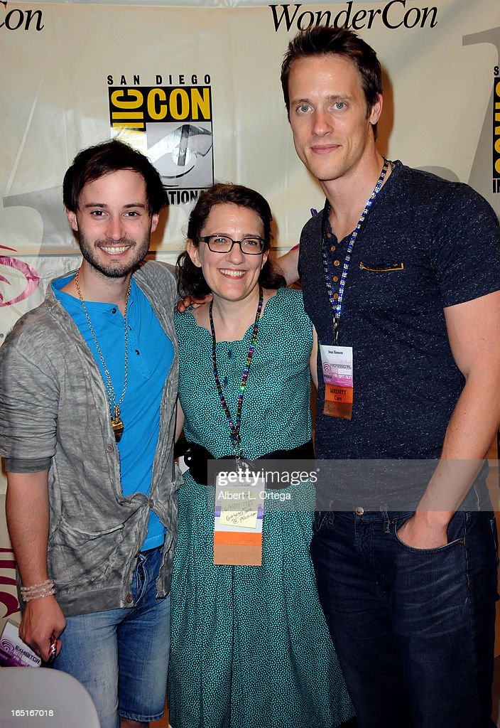 Actor Brad Bell, producer Jane Espenson and actor Sean Hemeon of 'Husbands' participate in WonderCon Anaheim 2013 - Day 3 held at Anaheim Convention Center on March 31, 2013 in Anaheim, California.