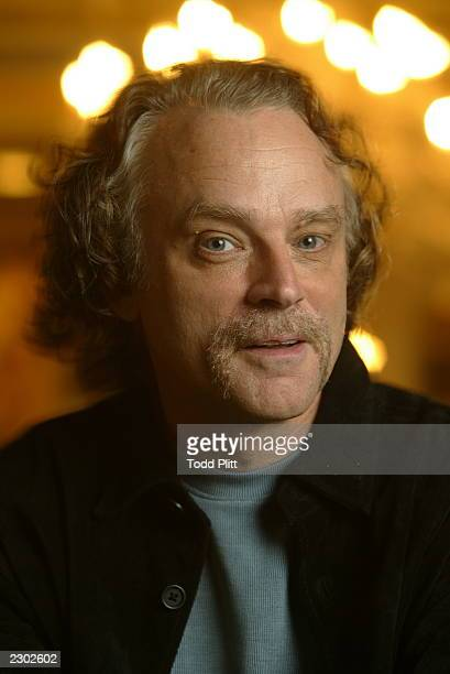 Actor Brad Dourif is photographed in New York City on December 2 2002 during a press event for The Lord of The Rings The Two Towers Dourif plays the...