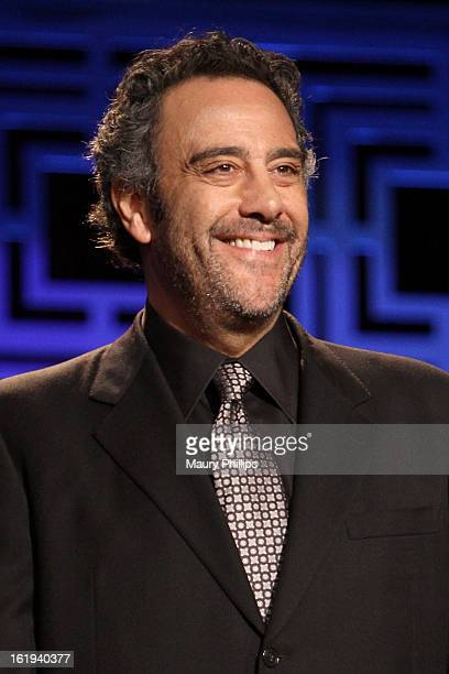 Actor Brad Garrett speaks onstage at the 2013 WGAw Writers Guild Awards at JW Marriott Los Angeles at LA LIVE on February 17 2013 in Los Angeles...