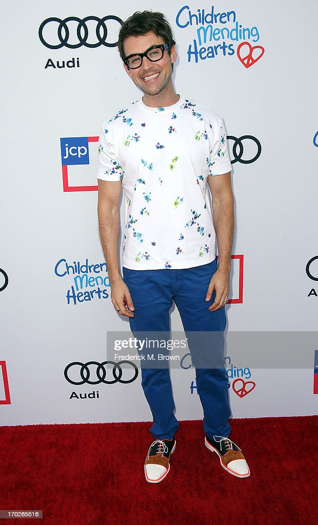 Actor Brad Goreski attends the First Annual Children Mending Hearts Style Sunday on June 9, 2013 in Beverly Hills, California.