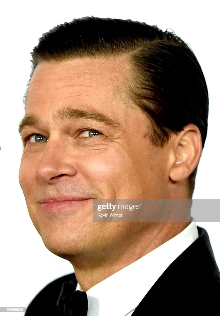 Actor <a gi-track='captionPersonalityLinkClicked' href=/galleries/search?phrase=Brad+Pitt+-+Actor&family=editorial&specificpeople=201682 ng-click='$event.stopPropagation()'>Brad Pitt</a> arrives at the AFI FEST 2015 presented by Audi opening night gala premiere of Universal Pictures' 'By The Sea' at the Chinese Theatre on November 5, 2015 in Los Angeles, California.