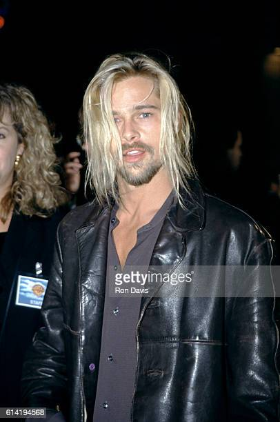 Actor Brad Pitt attends the 'Interview with the Vampire The Vampire Chronicles' Westwood Premiere on November 9 1994 at the Mann Village Theatre in...