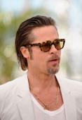 Actor Brad Pitt attends 'The Tree Of Life' photocall during the 64th Annual Cannes Film Festival at Palais des Festivals on May 16 2011 in Cannes...