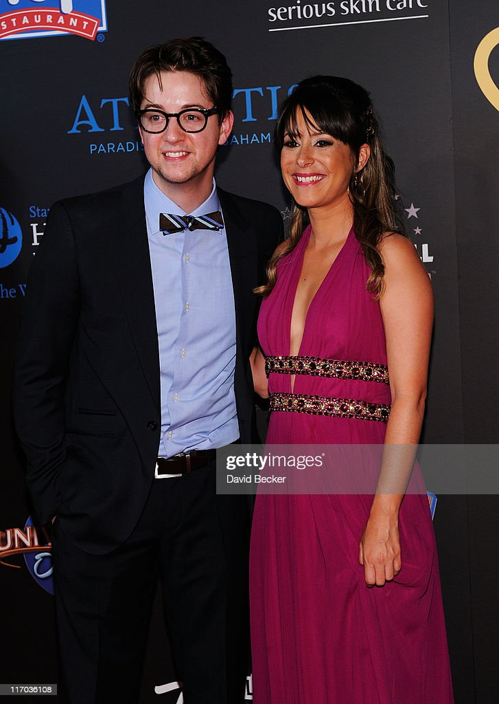 Actor <a gi-track='captionPersonalityLinkClicked' href=/galleries/search?phrase=Bradford+Anderson&family=editorial&specificpeople=4214502 ng-click='$event.stopPropagation()'>Bradford Anderson</a> and Actress <a gi-track='captionPersonalityLinkClicked' href=/galleries/search?phrase=Kimberly+McCullough&family=editorial&specificpeople=663618 ng-click='$event.stopPropagation()'>Kimberly McCullough</a> arrives at the 38th Annual Daytime Entertainment Emmy Awards held at the Las Vegas Hilton on June 19, 2011 in Las Vegas, Nevada.