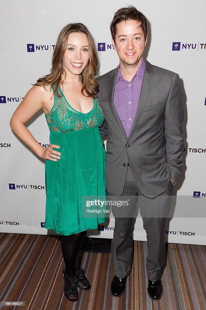 Actor <a gi-track='captionPersonalityLinkClicked' href=/galleries/search?phrase=Bradford+Anderson&family=editorial&specificpeople=4214502 ng-click='$event.stopPropagation()'>Bradford Anderson</a> (R) and Kiera Mickiewicz attend NYU's Tisch School Of the Arts LA Gala at Regent Beverly Wilshire Hotel on October 28, 2013 in Beverly Hills, California.