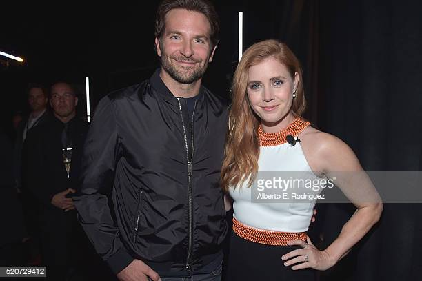 """Actor Bradley Cooper and actress Amy Adams attend CinemaCon 2016 Warner Bros Pictures Invites You to """"The Big Picture"""" an Exclusive Presentation..."""