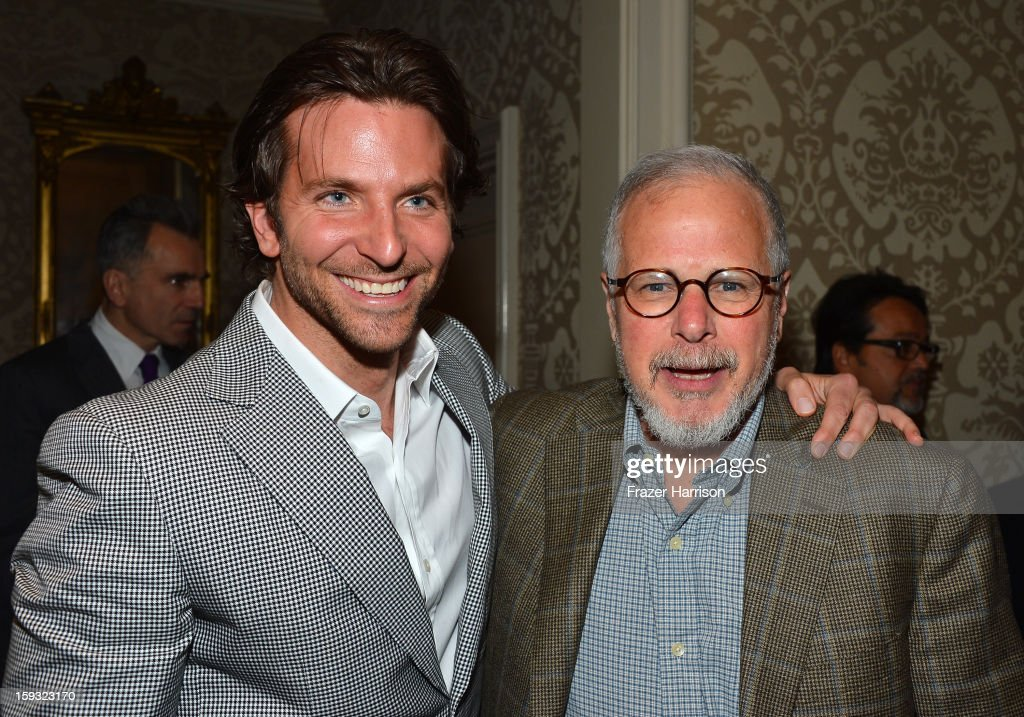 Actor Bradley Cooper (L) and editor Jay Cassidy attend the 13th Annual AFI Awards at Four Seasons Los Angeles at Beverly Hills on January 11, 2013 in Beverly Hills, California.