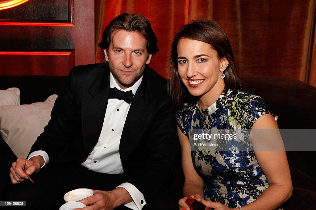 Actor Bradley Cooper (L) and Marie Claire's Editor In Chief Anne Fulenwider attend the The Weinstein Company's 2013 Golden Globe Awards after party presented by Chopard, HP, Laura Mercier, Lexus, Marie Claire, and Yucaipa Films held at The Old Trader Vic's at The Beverly Hilton Hotel on January 13, 2013 in Beverly Hills, California.