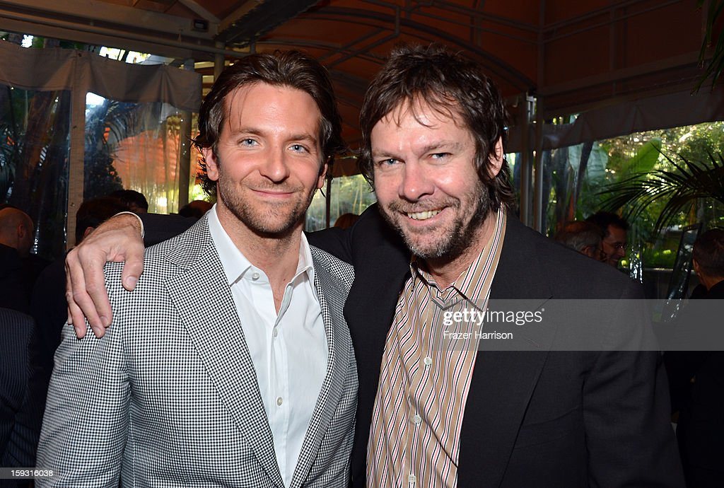 Actor <a gi-track='captionPersonalityLinkClicked' href=/galleries/search?phrase=Bradley+Cooper&family=editorial&specificpeople=680224 ng-click='$event.stopPropagation()'>Bradley Cooper</a> (L) and producer Dave Becky attend the 13th Annual AFI Awards at Four Seasons Los Angeles at Beverly Hills on January 11, 2013 in Beverly Hills, California.