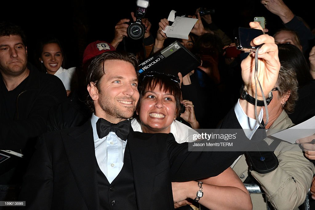 Actor Bradley Cooper arrives at the 24th annual Palm Springs International Film Festival Awards Gala at the Palm Springs Convention Center on January 5, 2013 in Palm Springs, California.