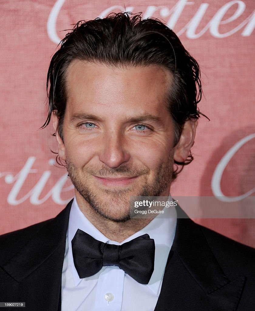Actor <a gi-track='captionPersonalityLinkClicked' href=/galleries/search?phrase=Bradley+Cooper&family=editorial&specificpeople=680224 ng-click='$event.stopPropagation()'>Bradley Cooper</a> arrives at the 24th Annual Palm Springs International Film Festival Awards Gala at Palm Springs Convention Center on January 5, 2013 in Palm Springs, California.